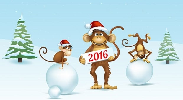 новогодние обои 2016 - MotoCMS