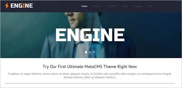 Besten MotoCMS Homepage-Vorlagen 2016 - 52342