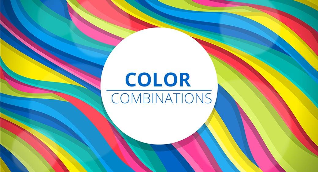 Farbkombinationen im Internet