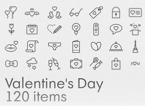 Kostenlose Design-Elemente zum Valentinstag 2016 - icons-3