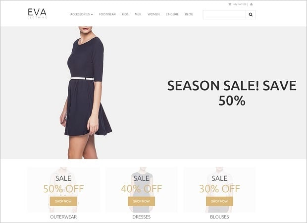 MotoCMS 3 Templates for Online Store - 58481-home