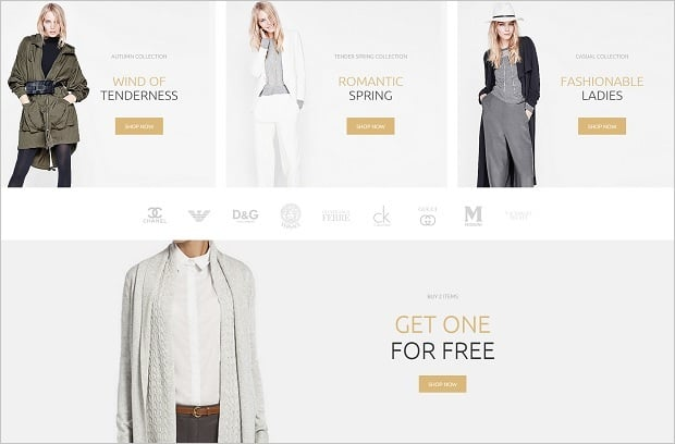 MotoCMS 3 Templates for Online Store - 58481-offers