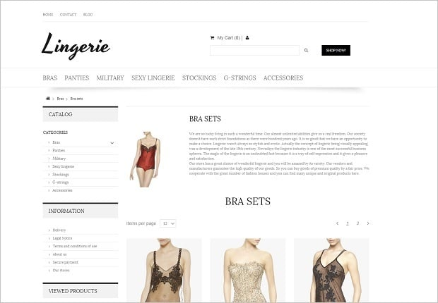 MotoCMS 3 Templates for Online Store - 58482-category