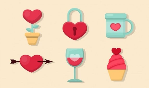 St Valentines Day Freebies 2016 - elements-14