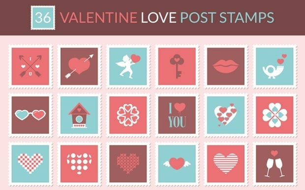 St Valentines Day Freebies 2016 - icons-2