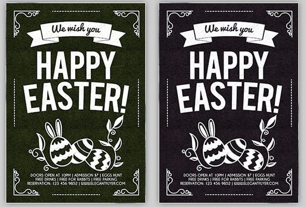Easter Web Design Freebies 2016 - flyers-6