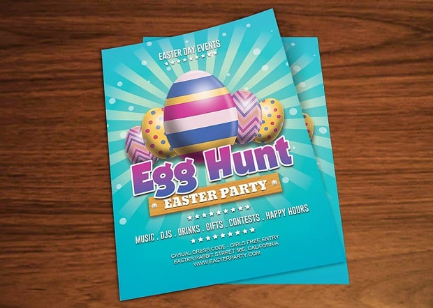 Easter Web Design Freebies - flyers-7