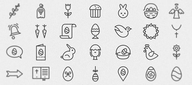 Easter Web Design Freebies 2016 - icons-14