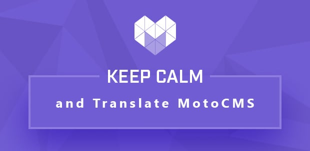MotoCMS Übersetzungsprojekt auf CrowdIn wurde gestartet