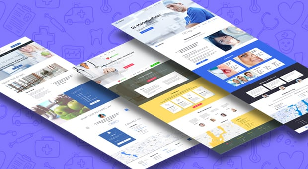 MotoCMS Medical Website Themes 2016 - main image