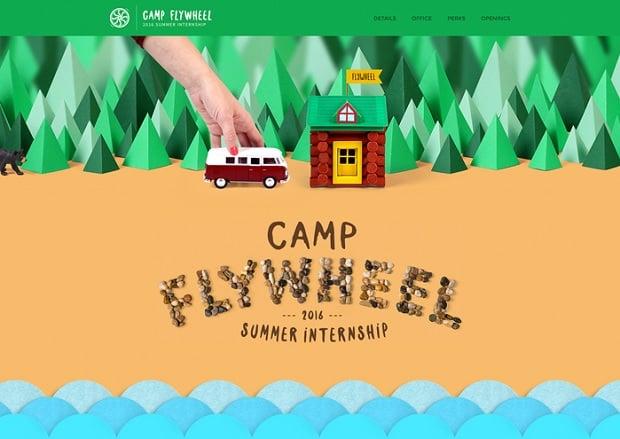 цвета в веб дизайне 2016 - camp