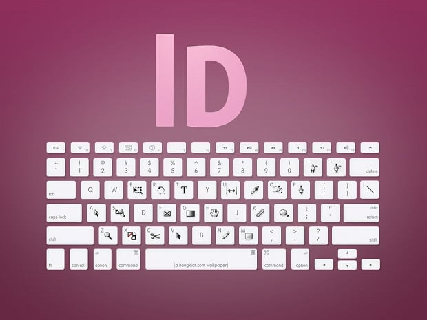 Cheat Sheets for Web Designers - hongkiat indesign shortcuts