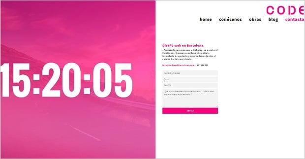 Kräftige Farben als Webdesign-Trend 2016 - codewebbarcelona