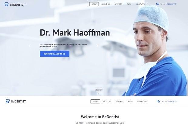 шаблон медицинского сайта 2016 от MotoCMS - 58688