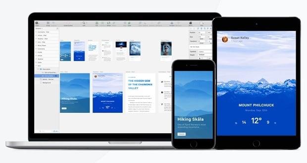 Sketch или Photoshop инструменты веб-дизайна - mirror