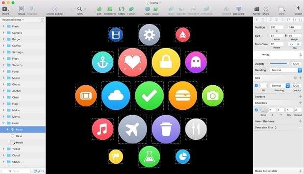 Sketch или Photoshop инструменты веб-дизайна - precision