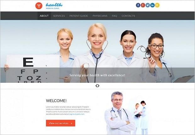 Farben für Websites zum Thema Medizin - 53228
