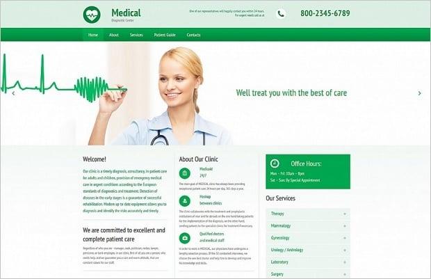 Farben für Websites zum Thema Medizin - 55395