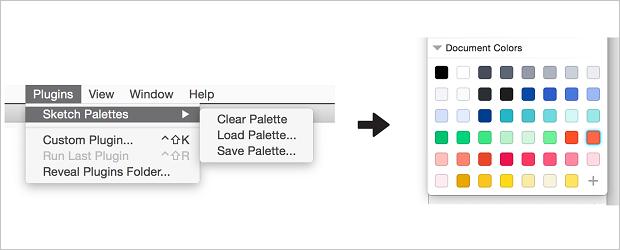 Free Sketch App Plugins - sketch palettes