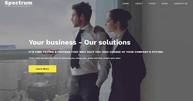 spectrum-business-theme-for website-consulting
