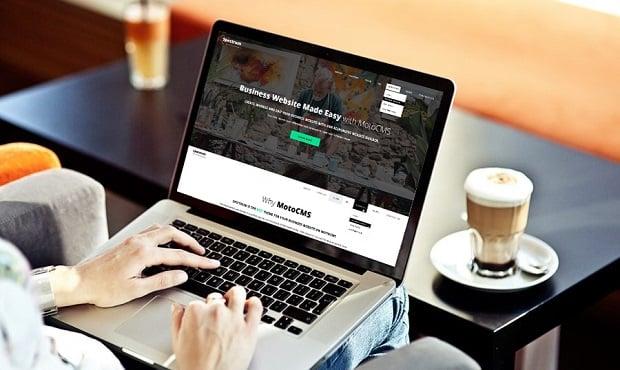 Spectrum - eine brandneue Business Vorlage für hochwertige Webpräsenz