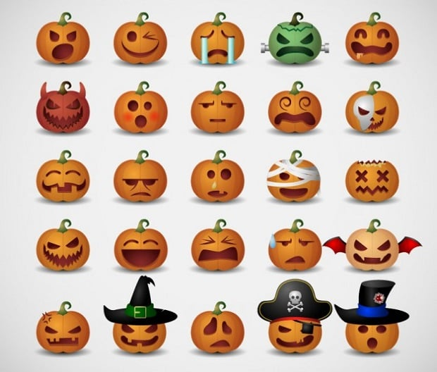 halloween-decorations-pumpkin-emotions