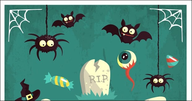 halloween-decorations-vector-pack-2