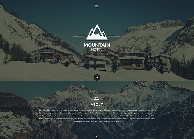 single-page-websites-mountain-hotel