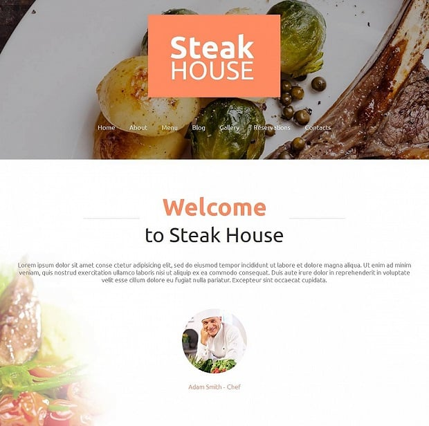 single-page-websites-steak-house