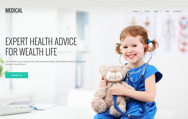 universal-business-website-theme-medical-child