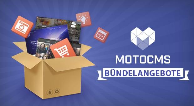 Bündelangebote von MotoCMS für eure Webpräsenz