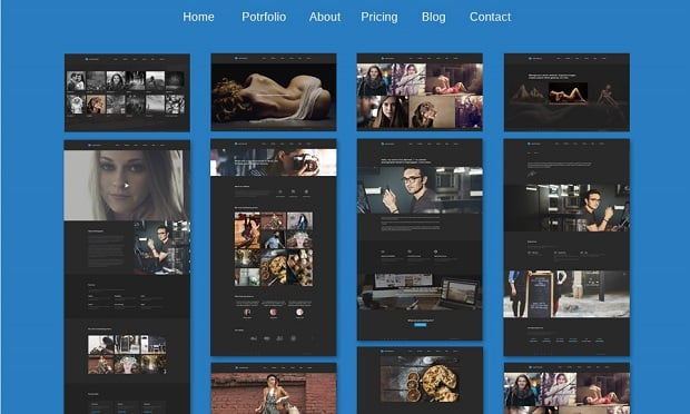 defrozo-photography-portfolio-theme-extra-pages