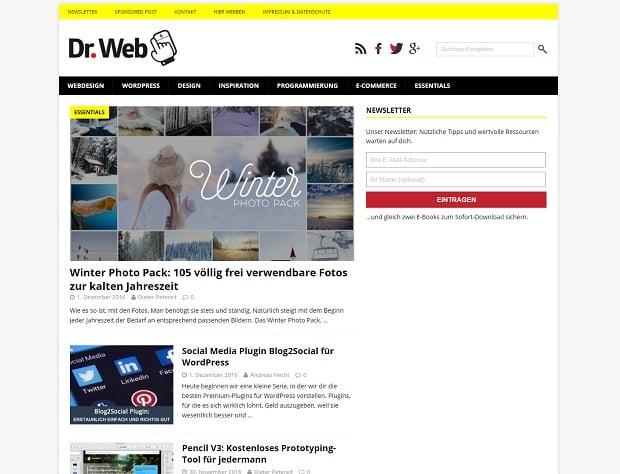 die-10-deutschen-webdesign-blog-dr-web