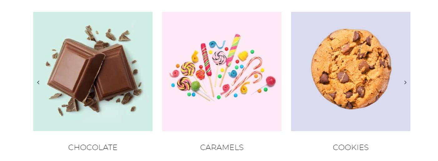 Candy Shop Website