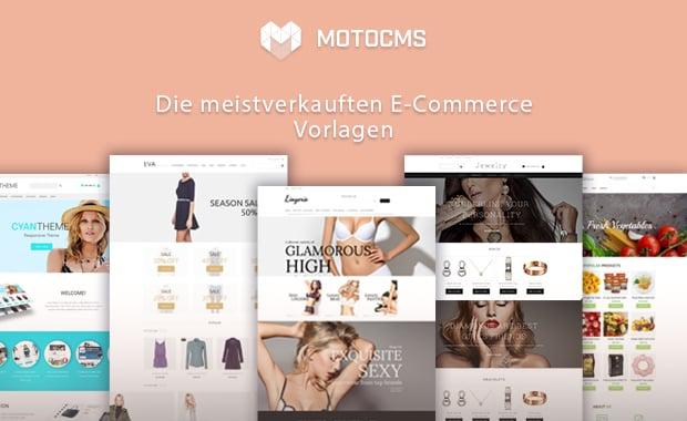 Die 6 meistverkauften MotoCMS eCommerce Vorlagen 2017