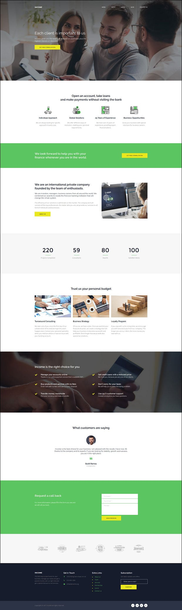 financial-website-design-loan-company-home-page