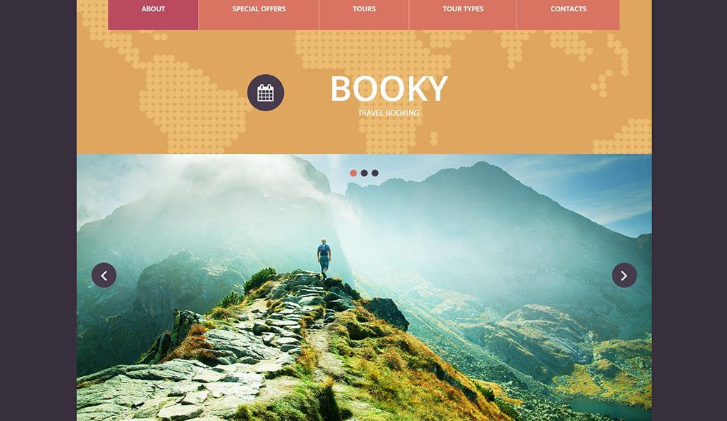 Как выбрать шаблон сайта туристического агенства