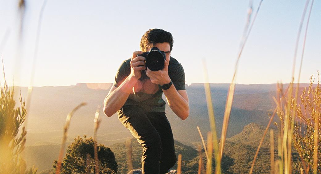создавая привлекательный сайт фотографа