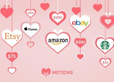 Розыгрыш 5 подарочных сертификатов для клиентов MotoCMS