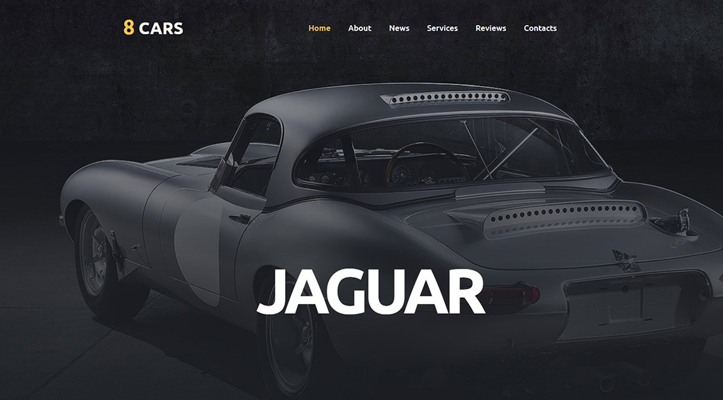 Car Sales Website Template