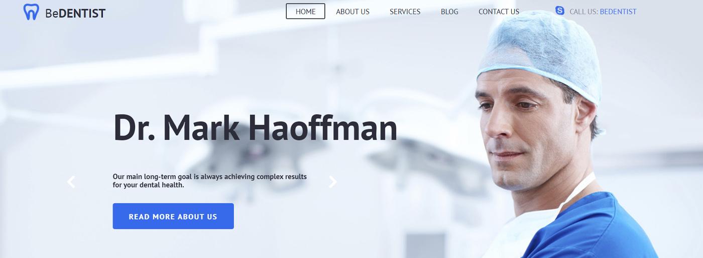 Dental Medical Website Design