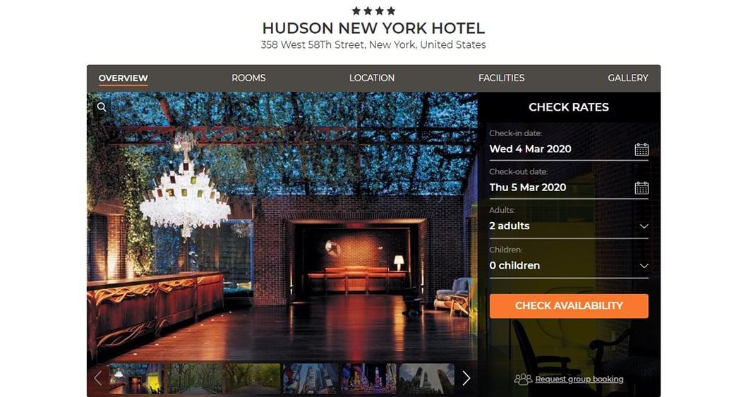 Hudson New York hotel