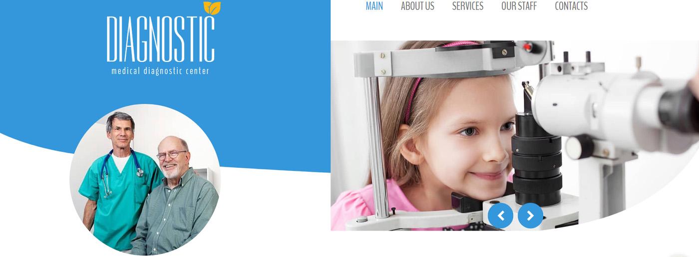 Medical Website Design for Diagnostic Center