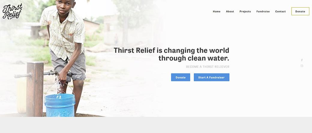 ThirstRelief сайт изображение