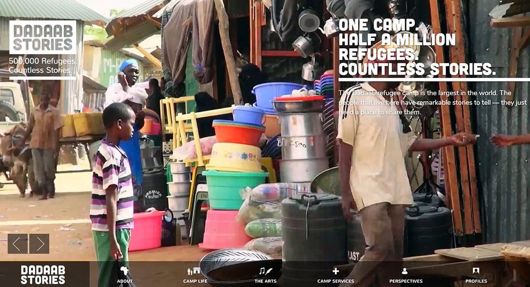 DadaabStories Website