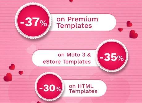 3 Gründe den MotoCMS Valentinstag Rabatt zu nutzen