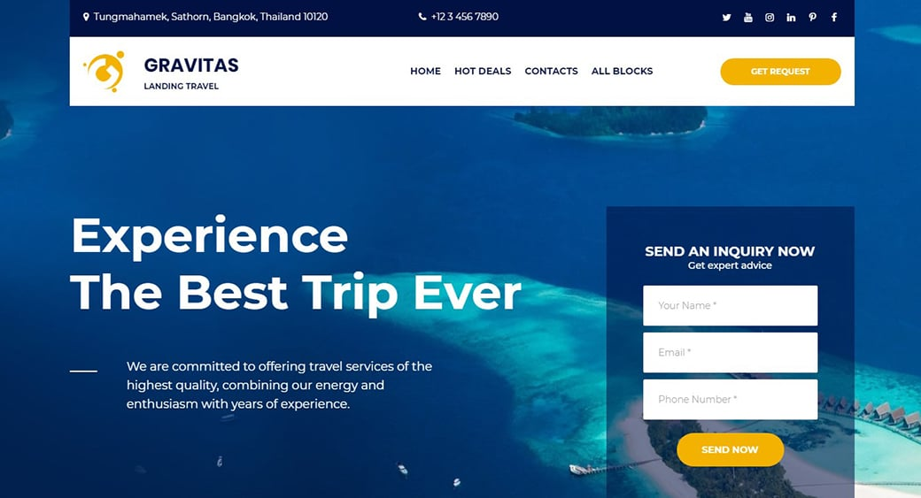 sea trip cruise website