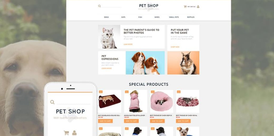 pet shop theme