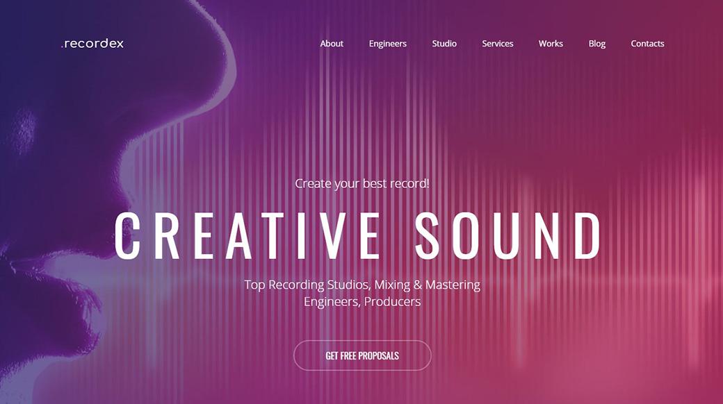 Сделать сайт по музыке бесплатно тупая интернет реклама