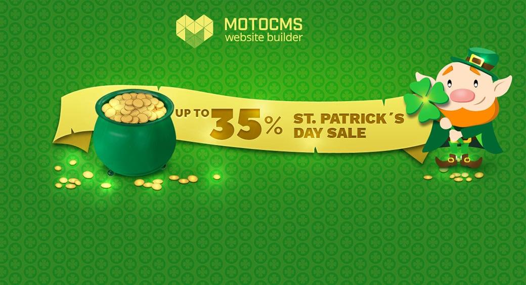 Saint Patrick`s Day Sale main image